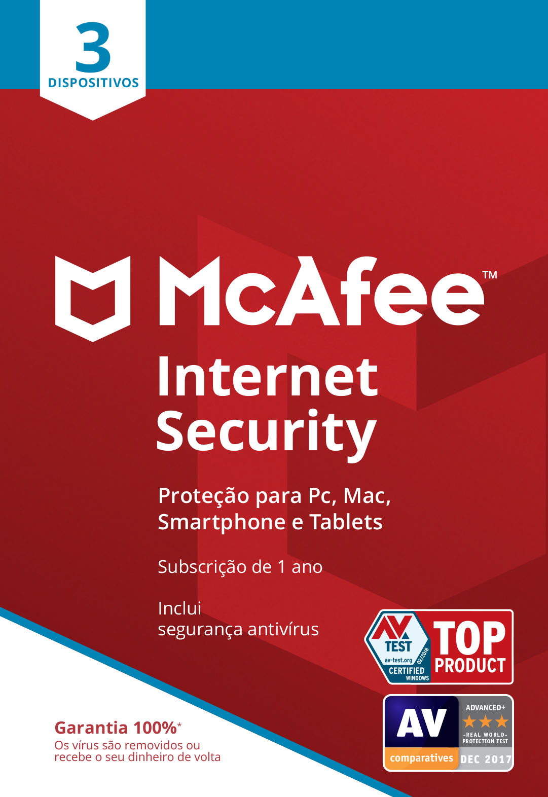 Mcafee - PROGRAMA PC MCAFEE IS 3 DEVICES